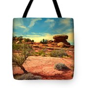 The Desert And The Sky Tote Bag
