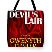 The Devil's Lair Book Cover Tote Bag