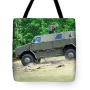 The Dingo 2 In Use By The Belgian Army Tote Bag