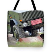 The Dingo 2 Mppv Of The Belgian Army Tote Bag