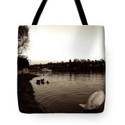 The Disinterested Goose And I  Tote Bag