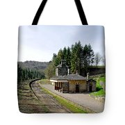 The Disused Alton Towers Railway Station Tote Bag