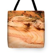 The Dragon At The Wave Tote Bag
