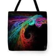 The Eagle Rainbow Tote Bag