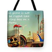 The Economic Game Tote Bag