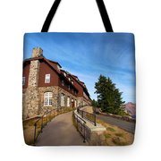 The Edge Of The Crater Tote Bag