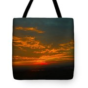 The Electric Sky  Tote Bag