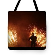 The Emergence Of The Devil Tote Bag