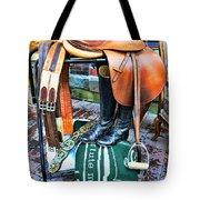 The English Saddle Tote Bag