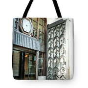 The Entranceway To Unilever House  Tote Bag