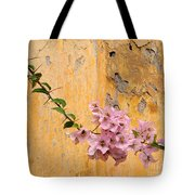 The Escaping Bougainvillea Tote Bag