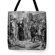The Execution Of The Inca, 1533 Tote Bag