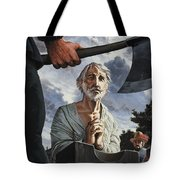 The Execution Of Walter Raleigh Tote Bag