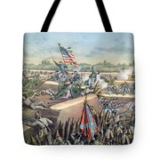 The Fall Of Petersburg To The Union Army 2nd April 1965 Tote Bag
