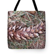 The Fallen Pine Tote Bag
