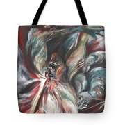The Falling Figure Tote Bag