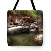 The Falls Virgin River Tote Bag