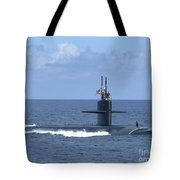 The Fast Attack Submarine Uss Salt Lake Tote Bag
