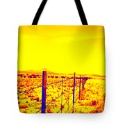 The Fence Line Tote Bag