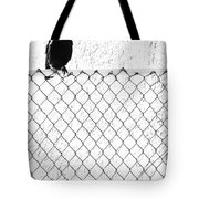 The Fence That Follows Tote Bag