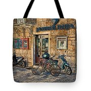 The Ferry Ticket Office Corfu Croatia Tote Bag