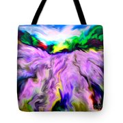 The Field Of Lavender Tote Bag