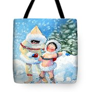 The Figure Skater 3 Tote Bag