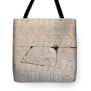 The Figures Of Prisoners On A Temple Tote Bag