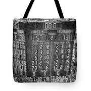 The Final Score- N C A A  Basketball Tote Bag