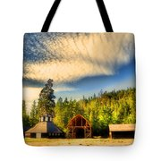 The Fintry Barns Tote Bag