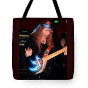 The Fire Of The Electric Sun Tote Bag