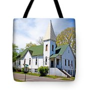 The First Christian Church Of Harriman 2 Tote Bag