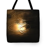The First Drops Of Rain Tote Bag