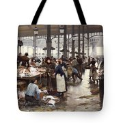 The Fish Hall At The Central Market  Tote Bag