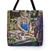 The Fish Monger Tote Bag
