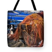 The Fisherman's Dog II Tote Bag