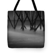 The Fishing Pier Tote Bag