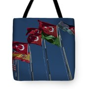 The Flags Of The Participating Nations Tote Bag