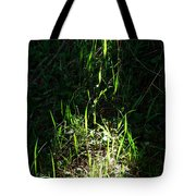 The Flames Of Green Tote Bag