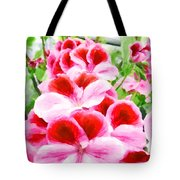 The Flower Tower Tote Bag