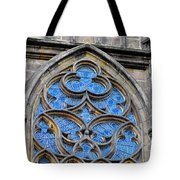 The Folly Of Windows In Prague Tote Bag by Christine Till