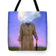 The Fool On The Hill Tote Bag