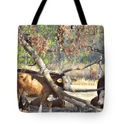 The Fork In The Tree Tote Bag