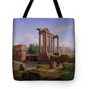 The Forum Rome  Tote Bag