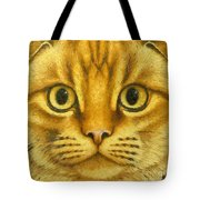 The French Orange Cat Tote Bag