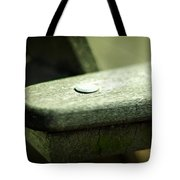 The Garden Bench Tote Bag