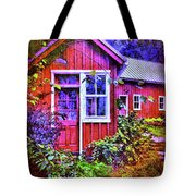 The Garden Path Tote Bag