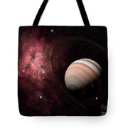 The Gas Giant Carter Orbited By Its Two Tote Bag