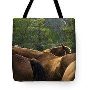The Gathering At Ryerss Farm Tote Bag