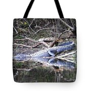 The Gator That Lives Under The Bridge Tote Bag